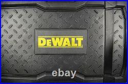 Dewalt Large Mobile Tool Box Storage Organizer 25in Rolling Case Water Resistant