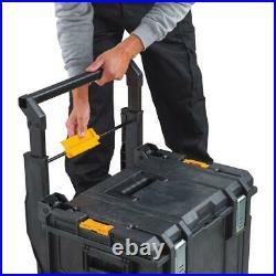 Dewalt Large Rolling Toolbox on Wheels Travel Storage Chest 3 pc ToughSystem