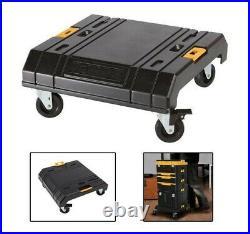 Dewalt TSTAK VI Deep Tool Storage Case + Drill Case + Organiser + Cart Trolley
