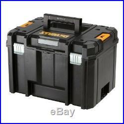 Dewalt TSTAK VI Rolling Mobile Deep Tool Storage Box Case on Wheels + Handle
