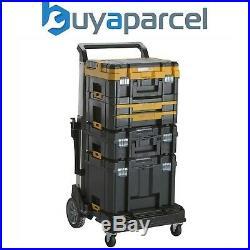 Dewalt Tstak Boxes DWST1-71195 DWST1-70702 DWST1-70704 + DWST1-71196 Trolley