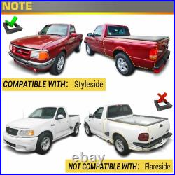Driver Side Truck Bed Storage Box ToolBox for Ford F-150 1997-2014 Styleside Bed