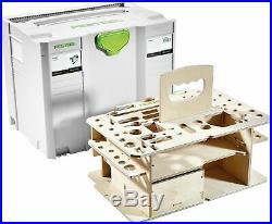 Festool Systainer T-Loc SYS-HWZ + Holzeinlage Holzeinsatz Werkzeugeinsatz 497658