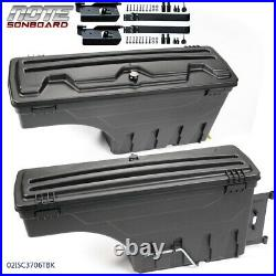 Fit For 02-18 Ram 1500 2500 3500 Left & Right Truck Bed Storage Box Tool Box