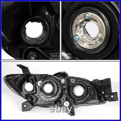 For 2004-2009 Mazda 3 Sedan Black/Clear Signal Projector Headlight Lamp+Tool Box