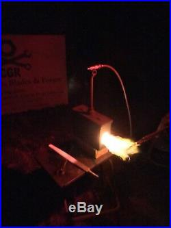 Gas Forge Mini Military Ammo Box Blacksmith Propane Gas Forge WithHose Kit
