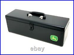 Genuine John Deere Black Metal Tool Box RE275592