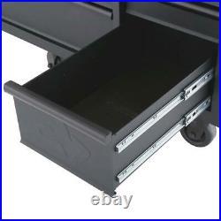 Husky Mobile Workbench Deep Tool Chest 61 in. W 10-Drawer Hardwood Top