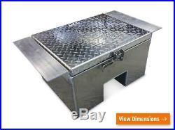 Iconic MetalGear Aluminum In-frame Semi Truck Tool Box 23Wx13Hx18D P#1802