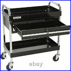 Ironton 1-Drawer Tool Cart 350-Lb. Capacity