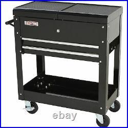 Ironton 2-Drawer Tool Cart 350-Lb. Capacity