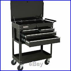 Ironton 4-Drawer Tool Cart 500-Lb. Capacity