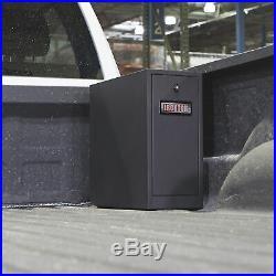 Ironton 5-Drawer Black Truck Tool Box-Steel, 21in