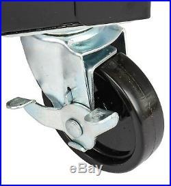 JEGS 81412 Heavy-Duty Tool Box Cart Sliding Top 350 lb. Capacity