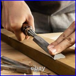 Japanese Nomi Chisel 6 Set With Box Woodworking carpenter Tool EZARC Japan F/S