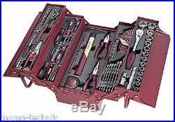 KRAFTWERK 3036 106tlg Profi Werkzeugkoffer Garderobenschrank Werkzeug Kasten NEU