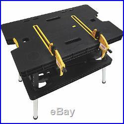 Keter Folding Work Table- 33 1/2in. L x 21 3/4in. W x 29 3/4in. H Model# 17182239