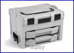 LS BOXX 306 grau Bosch Sortimo L BOXX Werkzeugkoffer-System mit I BOXX 72 C3