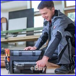 LS BOXX 306 grau Bosch Sortimo L BOXX Werkzeugkoffer mit 2x iBOXX 72 H3 und I3