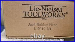 Lie-Nielson 10 1/4 Jack/Bench Rabbet Plane NEW IN BOX