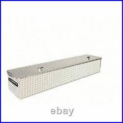 Lund 4460FM 60-Inch Flush Mount Truck Tool Box Brite Aluminum NEW