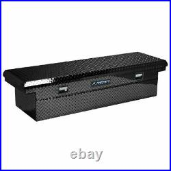 Lund 79100LP 70 Cross Bed Truck Tool Box Black Aluminum NEW