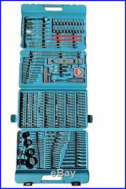 Makita Drill and Bit Set Screwdriver Kit Construction Tool Box Professional