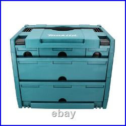 Makita P-84349 Makpac Connector Stacking Case Type 4 With 5 Drawers
