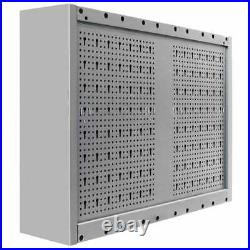 Metal Wall Mounted Tool Cabinet Box Garage Storage Cupboard Chest Industrial US