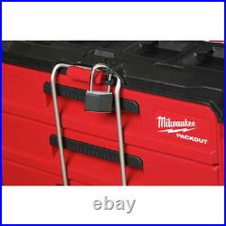 Milwaukee 48-22-8442 PACKOUT 50 lbs. Capacity 2-Drawer Tool Box New