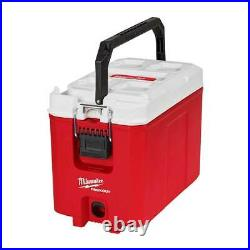 Milwaukee 48-22-8460 PACKOUT 16 Quart Hard Sided Impact Resistant Compact Cooler