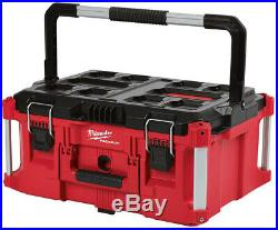 Milwaukee Large Rolling Toolbox on Wheels Packout Travel Storage Job Chest 3 pc