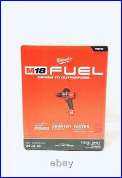 Milwaukee M18 FUEL 1/2 Drill Driver Bare Tool 2803-20 BRAND NEW IN BOX SEALED