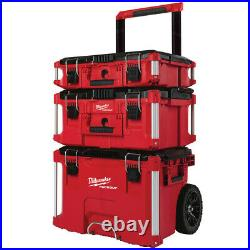 Milwaukee-PACKOUT PACKOUT 3pc Tool Box Kit