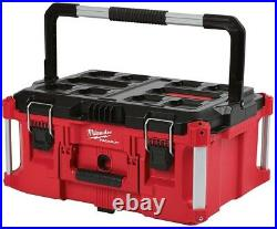 Milwaukee Packout Tool Box Modular Storage Organizer System 22 in. Mobile Wheels