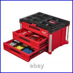 Milwaukee Tool Box Packout 3-Drawer