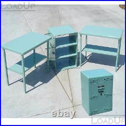 NEW Military Aluminum Utility Chest 30x18x19 Converts to Table