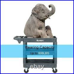 New 3 Tier Utility Tool Cart Dolly Trolley Heavy Duty Service Rolling Plastic