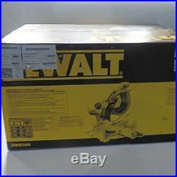 New Dewalt Dws780 12 Double Bevel Sliding Compound Miter Saw New In Box Sale