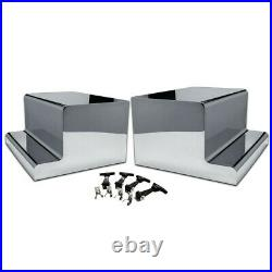 Peterbilt 379/389 Tool/Battery Box Cover set Heavy Duty Stainless Steel tp-1662