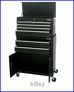 Portable Large Top Cabinet Tool Chest Top Box Garage Storage Roll Cab Toolbox
