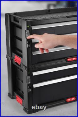Rolling Tool Box Chest Storage Cabinet on Wheels Mechanic Garage 5-Drawer Wheel