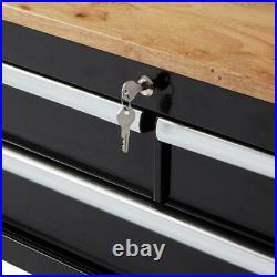 Rolling Tool Cabinet Storage Chest Box Garage Toolbox Organizer Drawer Husky