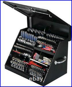 Rugged 26 Black Triangle Tool Box Storage Weather Guard Truck Garage Trailer