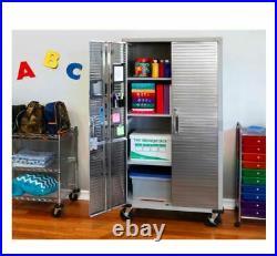 Seville Classics UltraHD Tall Storage Cabinet (Granite)