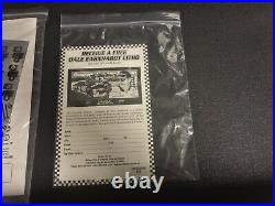 Snap On Dale Earnhardt Sr. Tool Box KRL1001 KRL1201 Brand New