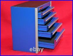 Snap On Royal Blue Mini Bottom Roll Cab Tool Box -New