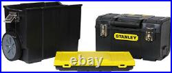 Stanley STST18613 3 In 1 Large Rolling Workshop Portable Tool Box Organizer NEW