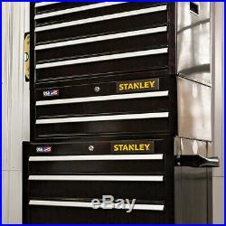 Stanley STST22625BK 26-Inch 300-series 2-Drawer Storage Middle Chest Black