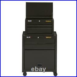 Stanley STST22656BK 26-Inch 100-Series 5-Drawer Storage Tool Center Black